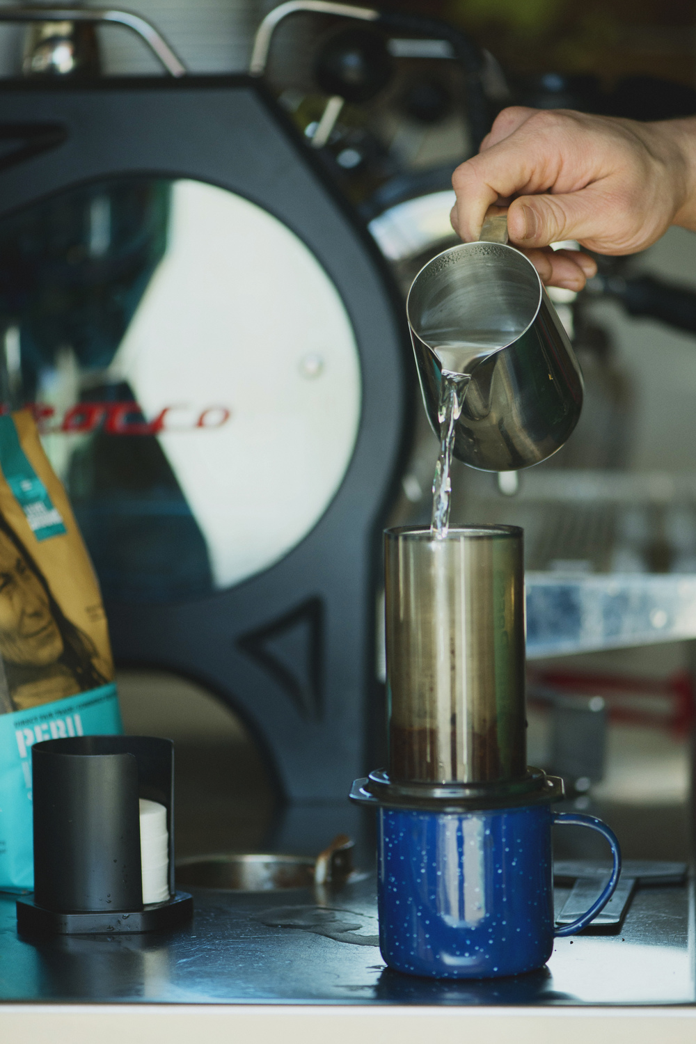 Level Ground Trading - How to use an Aeropress