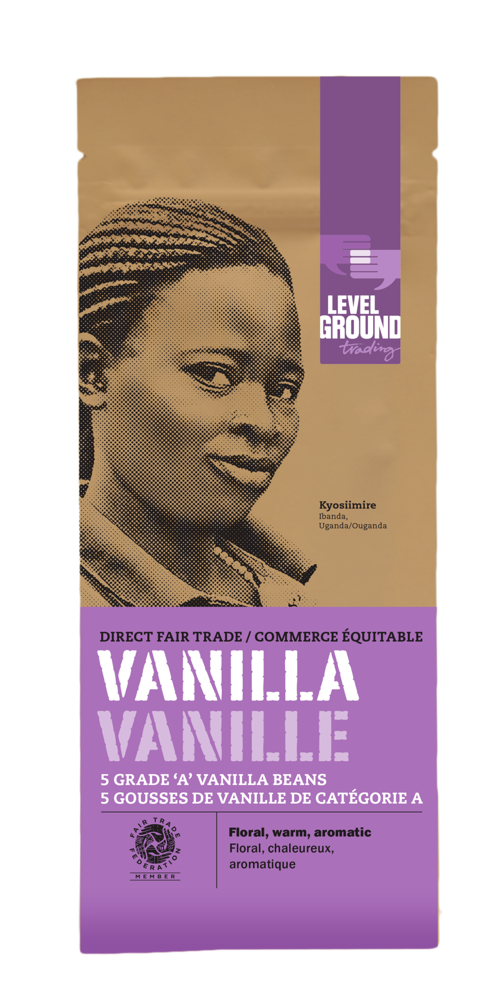 Level Ground Trading - New Vanilla Packaging