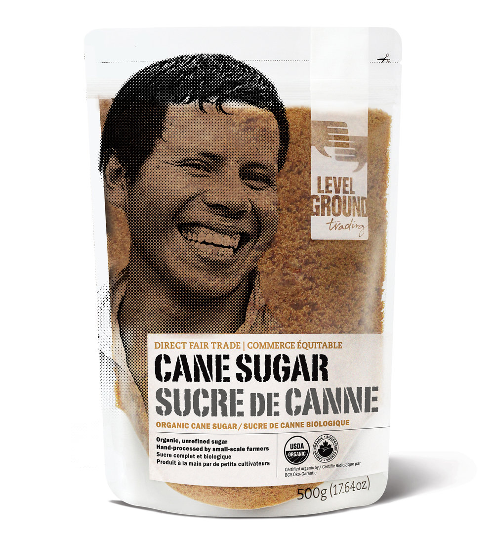 cane sugar package