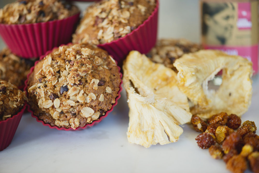 Tropical Fruit Muffin Recipe