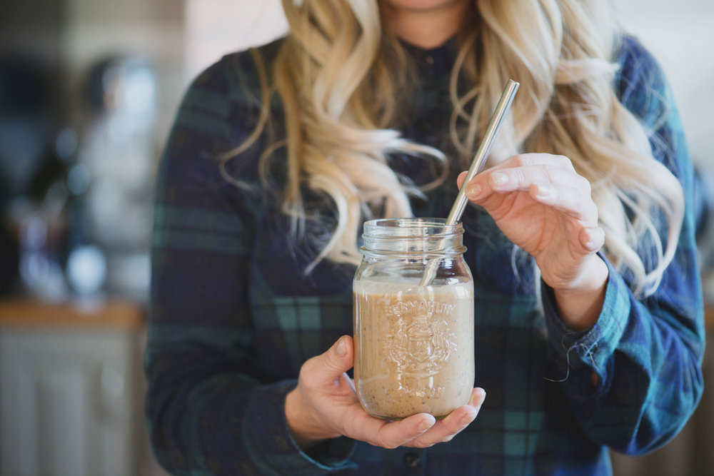 Banana Cacao Coffee Smoothie