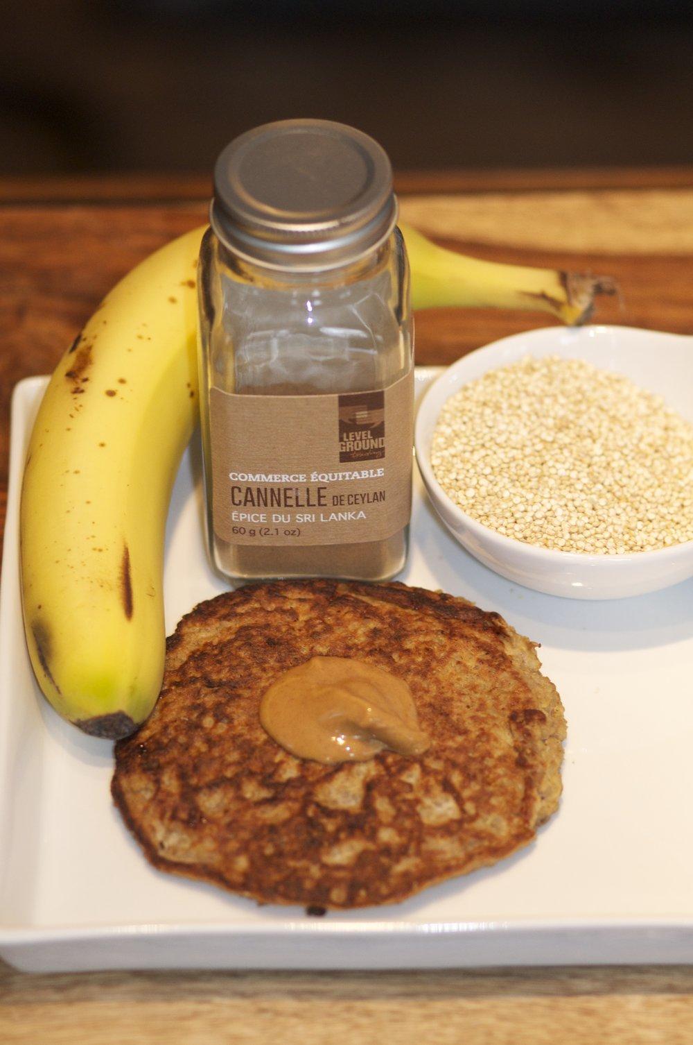 Quinoa Pancake Recipe