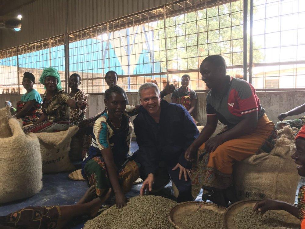 Hugo in Tanzania