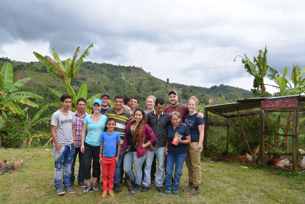 Level Ground's Dave and Robyn visit with the Dragon Fruit farmers in Colombia!