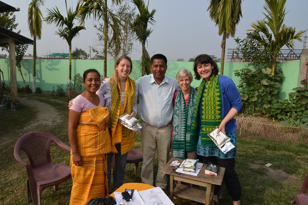 Swapna, Alicia, Bijit, Laurie (Level Ground), and Wyn (Level Ground).