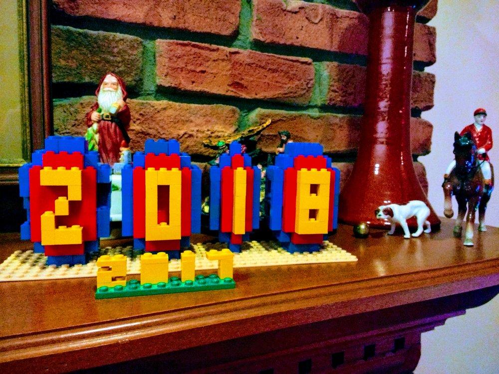 LEGO year, 2017-2018