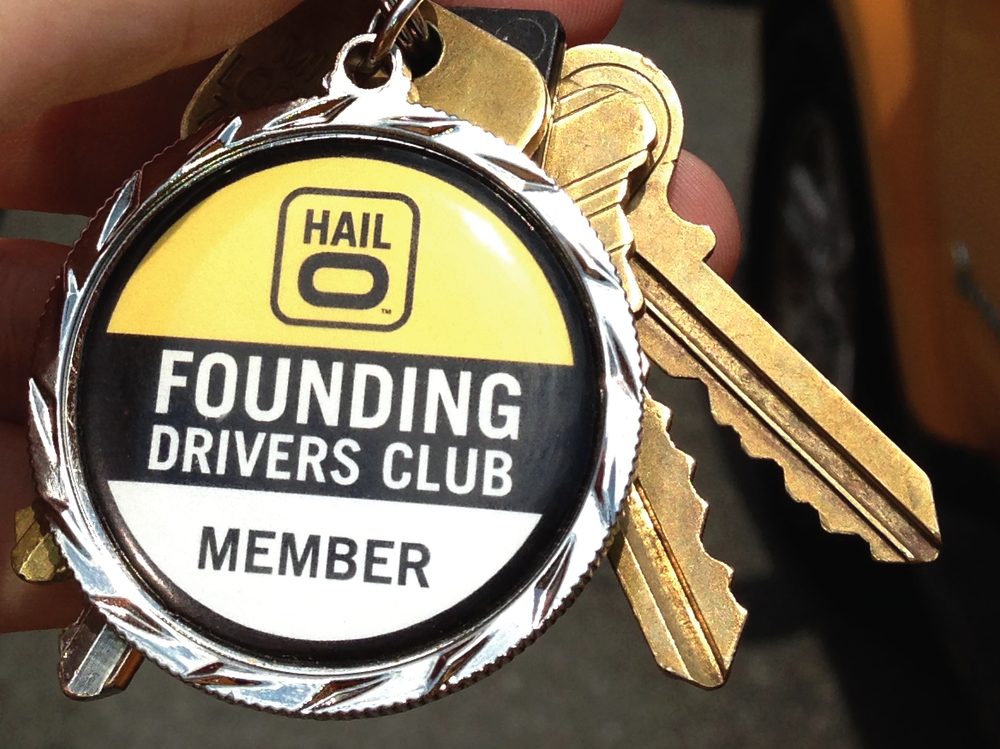 Keychains for driver loyalty program