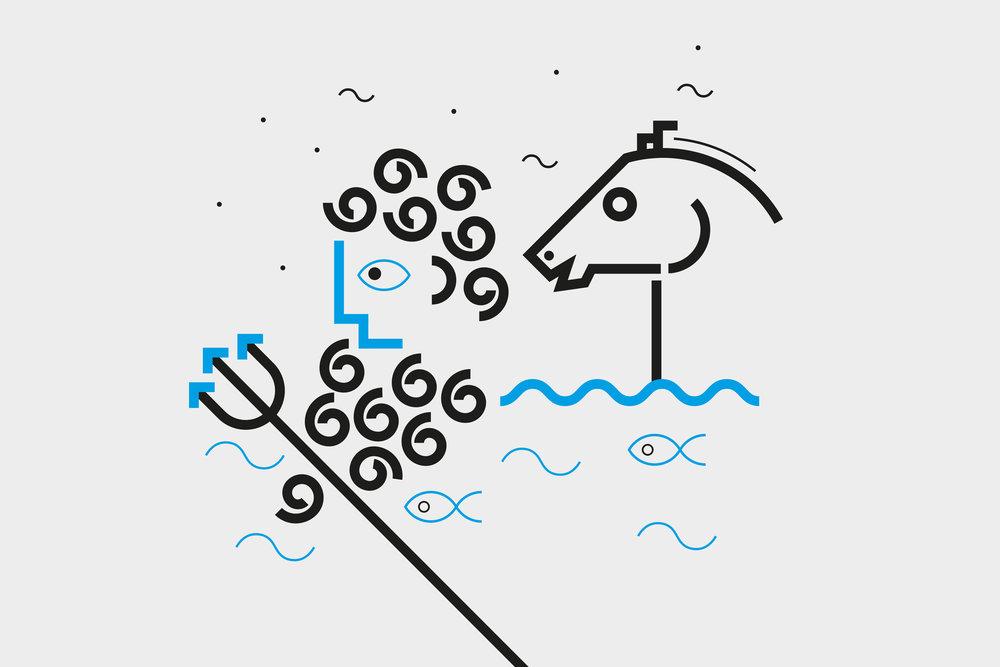 Illustration – Greek Myths