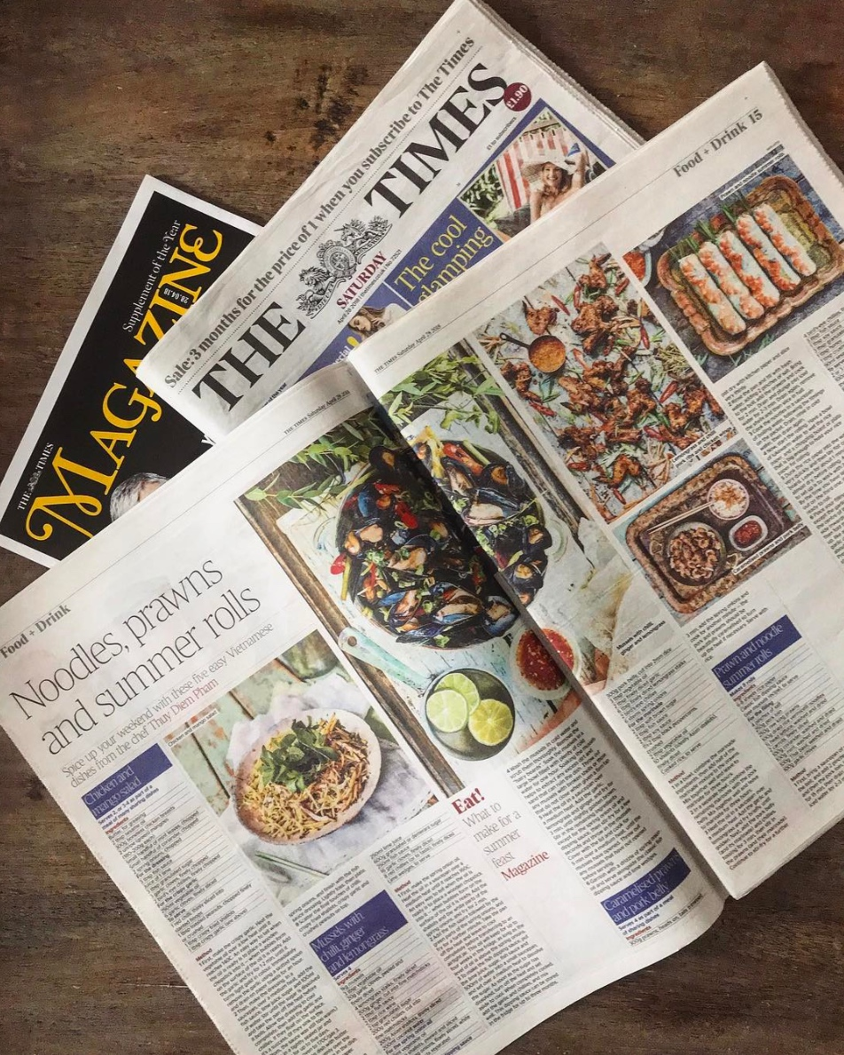 Times Magazine have given us a double page spread, wow! Pick up your copy this weekend and try out some of our delicious recipes.