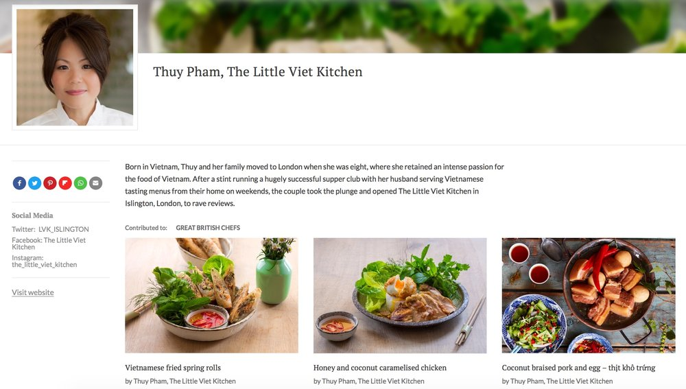 Executive Chef Thuy is featured over at Great British Chefs website, with a number of our great recipes to try. Yum!   https://www.greatbritishchefs.com/contributors/thuy-pham-little-viet-kitchen