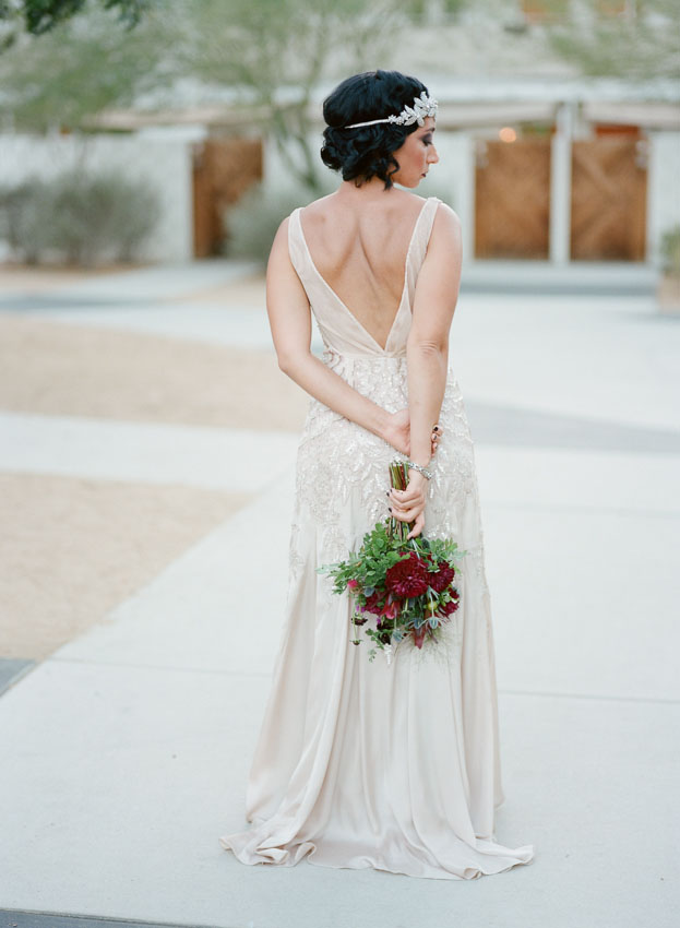 Ace Hotel in Palm Springs wedding by Napa based Erin Hearts Cour