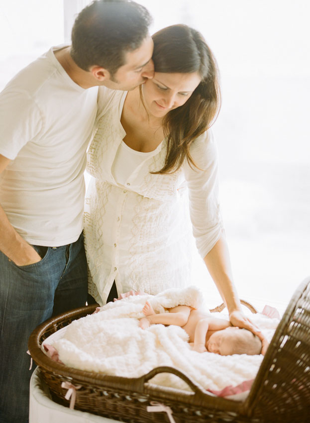 Newborn Lifestyle Location Photography by Courtney Keefe de Jauregui of Napa based The de Jaureguis (formally Erin Hearts Court).