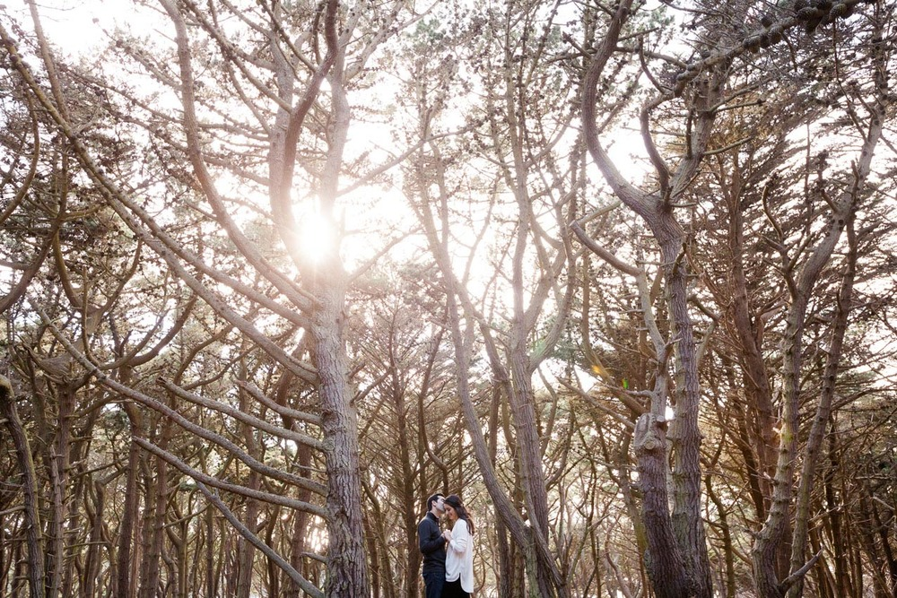 San Francisco Engagement Session by Napa based The de Jaureguis (formally Erin Hearts Court).