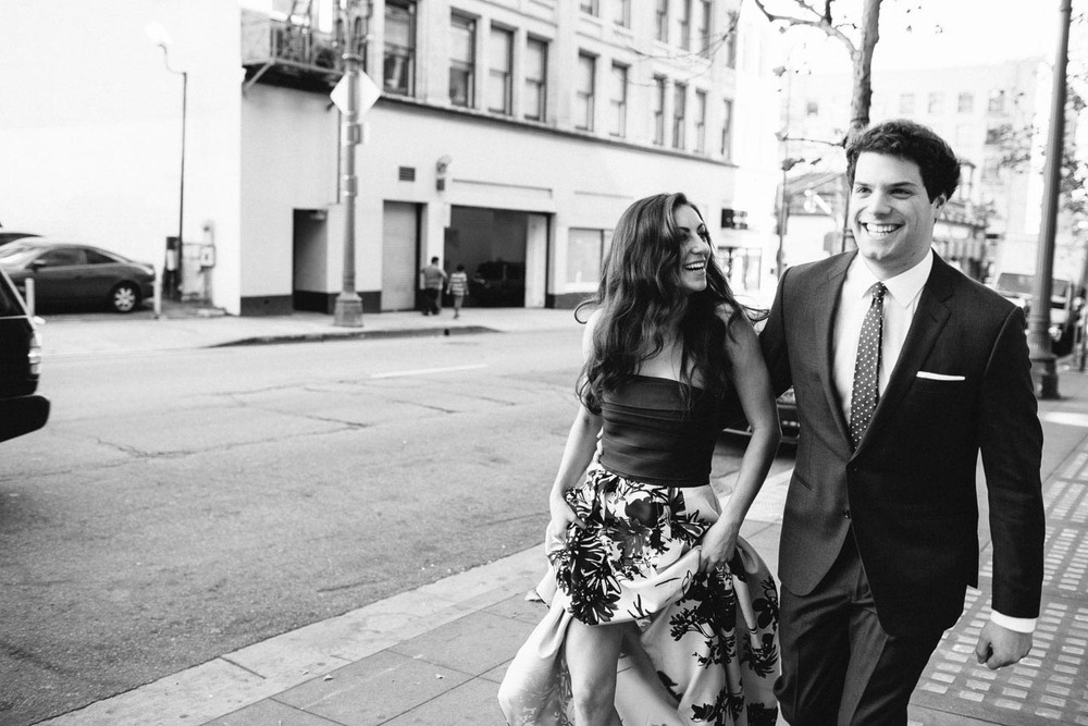 Los Angeles Engagement Session by Napa based Wedding Photographers: The de Jaureguis (formally Erin Hearts Court)