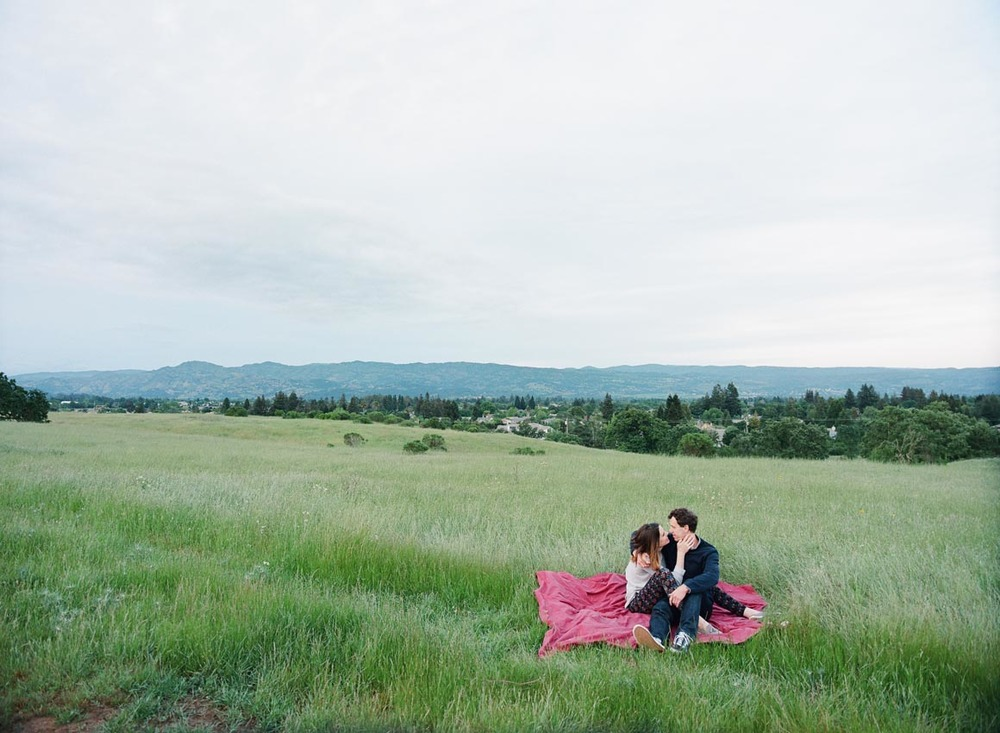 Napa Valley Engagement Session by The de Jaureguis (formally Erin Hearts Court).
