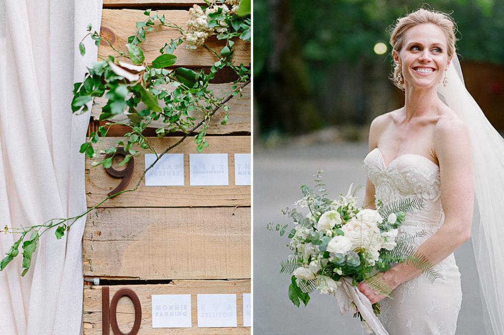 Calistoga Ranch wedding by Napa based photographers: The de Jaureguis (formally Erin Hearts Court).