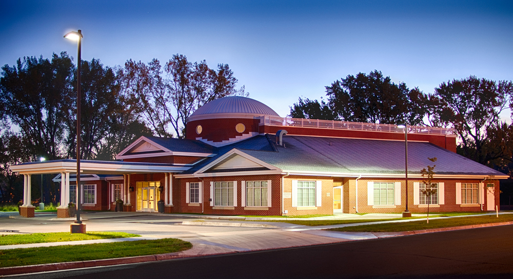 funeral home design. Macken River Park Chapel Funeral Home  CRW architecture design group