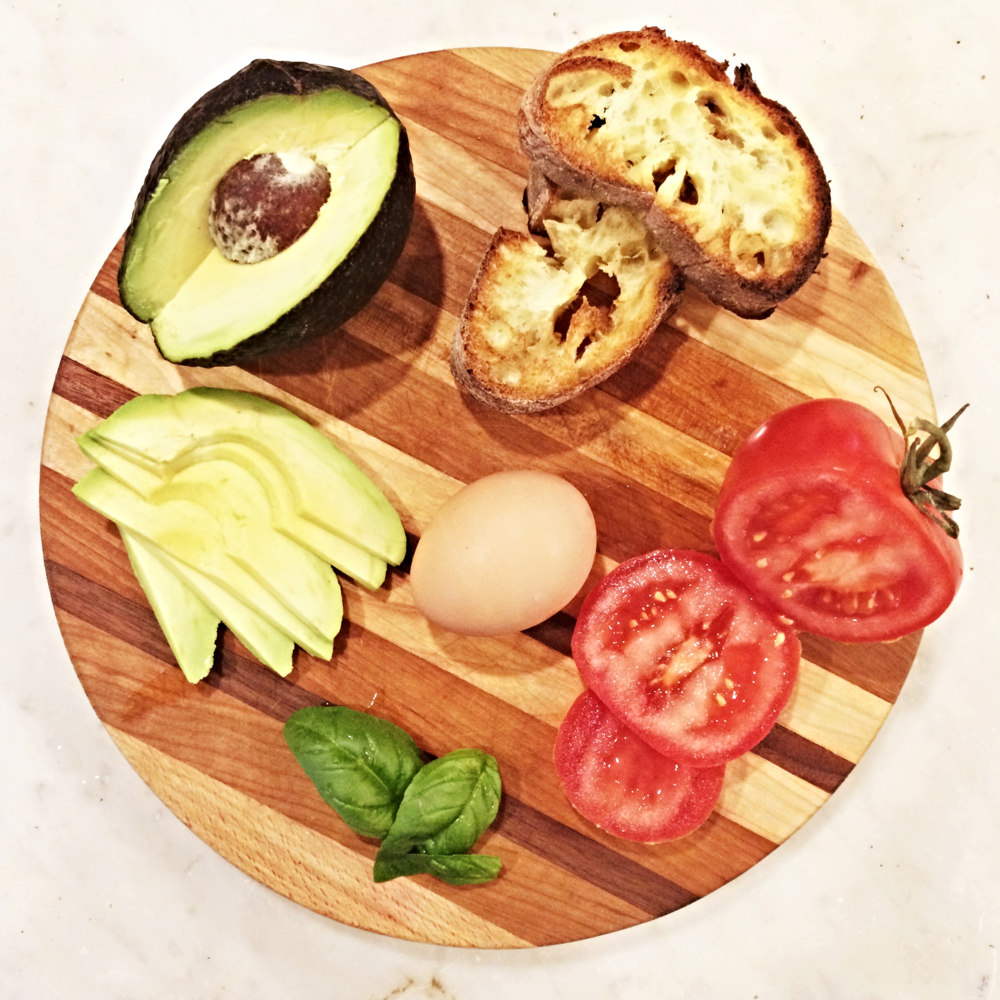 Mediterranean Poached Egg
