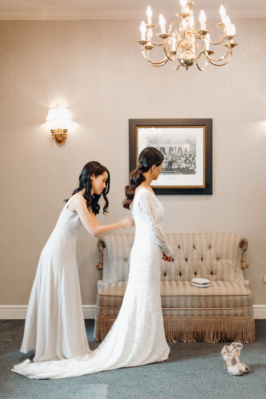 Fairmont Palliser Bridal Getting Ready