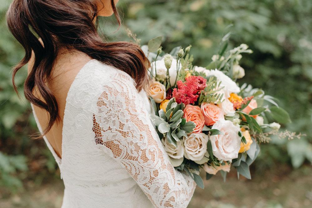 Summer Bridal Bouquet Fleurish Flower Shop