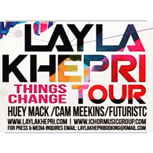 @laylakhepri coming to a city near you... Philly up first 7/20 are you guys ready #img #ichormusicgroup #thingschangetour