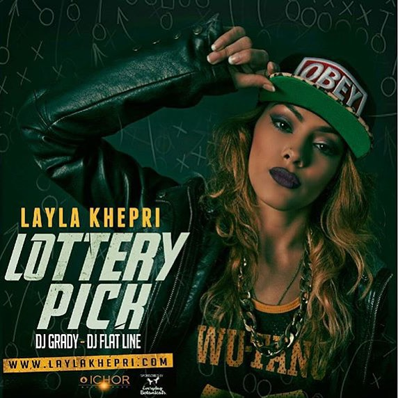 Before she out on tour @laylakhepri is gonna drop a new mixtape tomorrow exclusively on @spinrilla #lotterypick hosted by @therealflatline @djgrady #img #ichormusicgroup #tcm