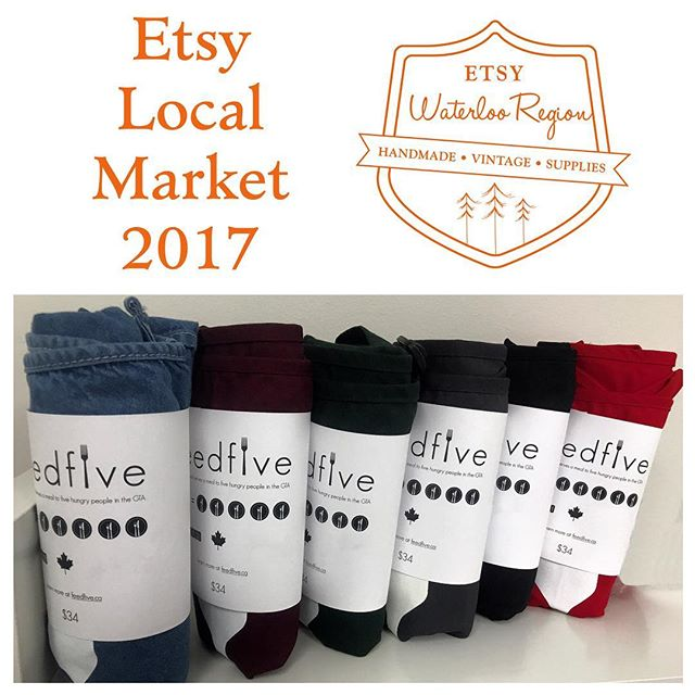 Need some last minute Father's Day gift shopping? Or just wanna browse some local stationary, home decor, clothing, and more? Join us at the Etsy Local Market this Saturday 10-5pm at Rim Park. Free admission. Free parking  Shoutout to @EtsyWR for once again donating a booth for us to fund raise for our meals through their event. See you there! #etsylocalmarket2017