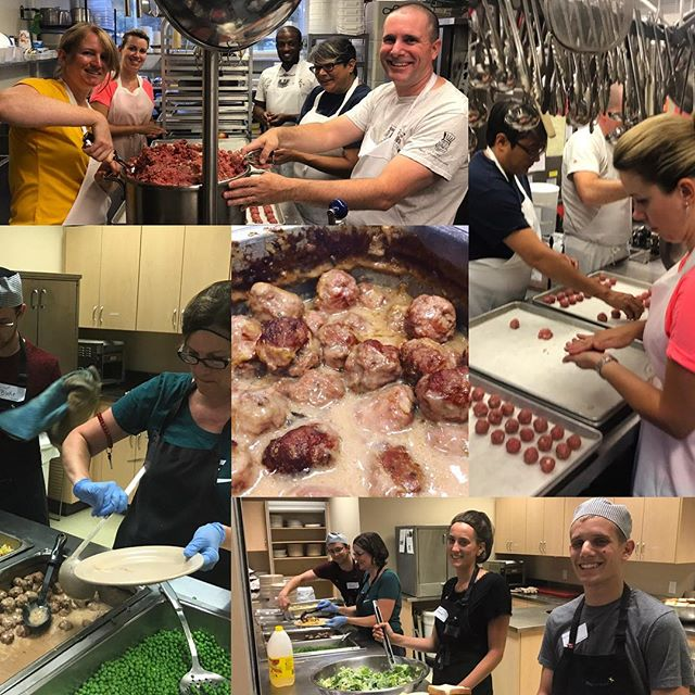 Big shoutout to @dutchiesmarket for once again donating the ground beef that we used to make #swedishmeatballs at @rayofhopekw this month. Thanks @chef_bob_v for the recipe and leadership!