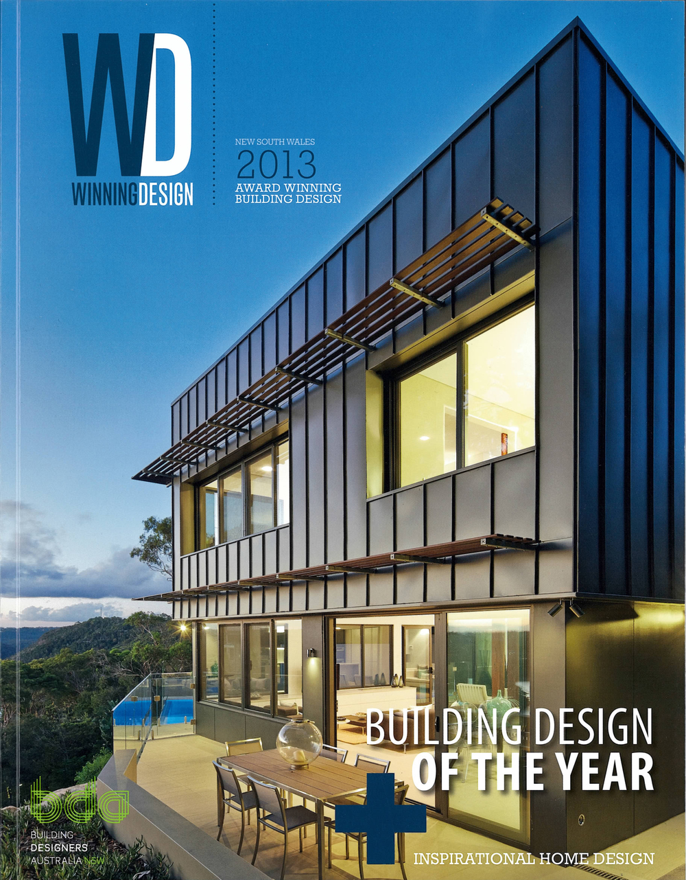 BDA Winning Design 2013 - Commendation: Rozelle Residence