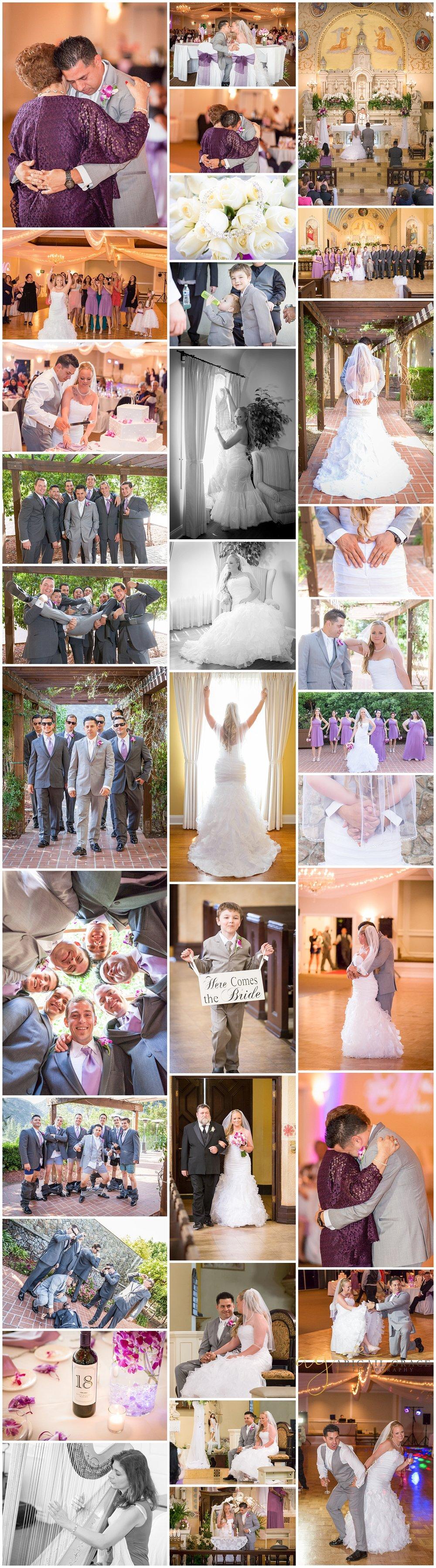 church family wedding photos