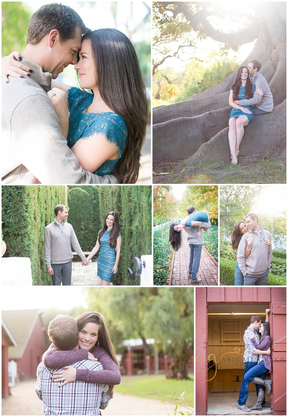 Rancho Los Alamitos Engagement Photos
