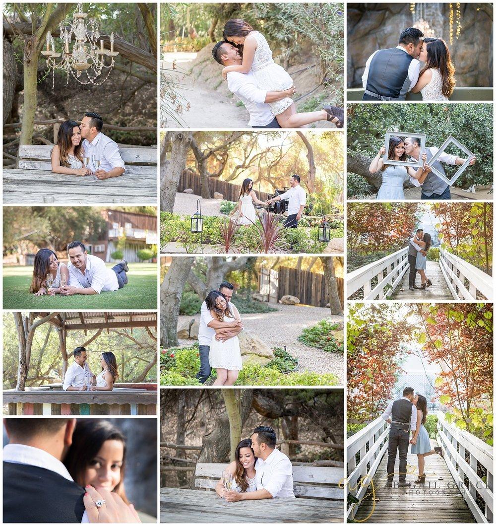 Calamigos Ranch Malibu engagement photos
