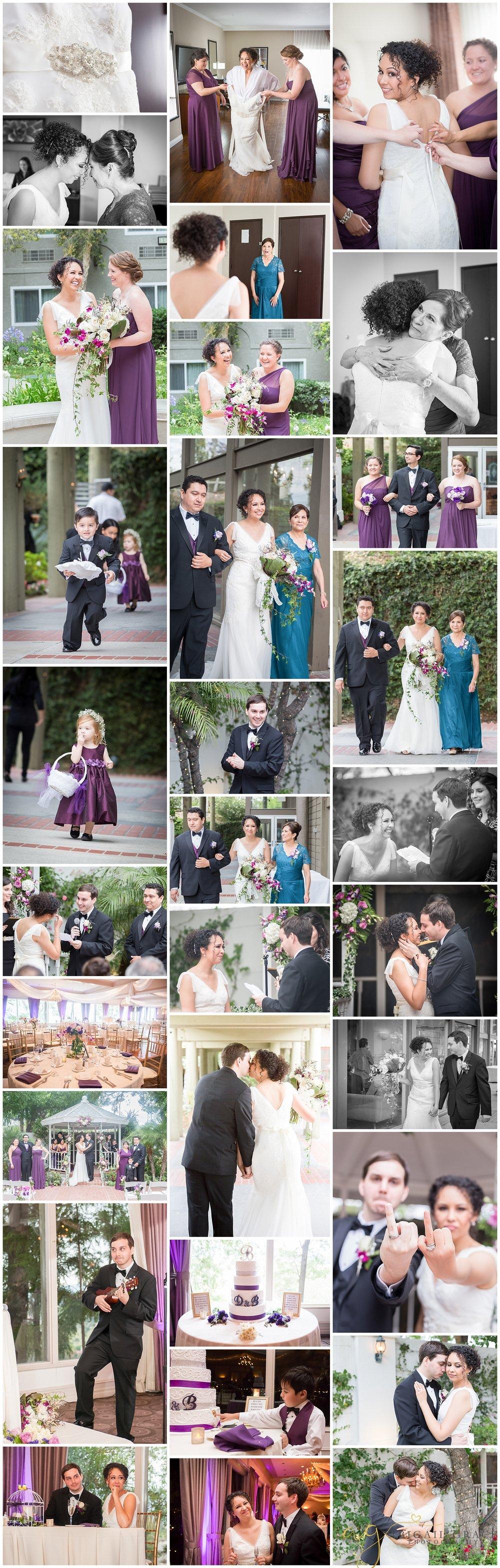 los angeles the odyssey wedding photos