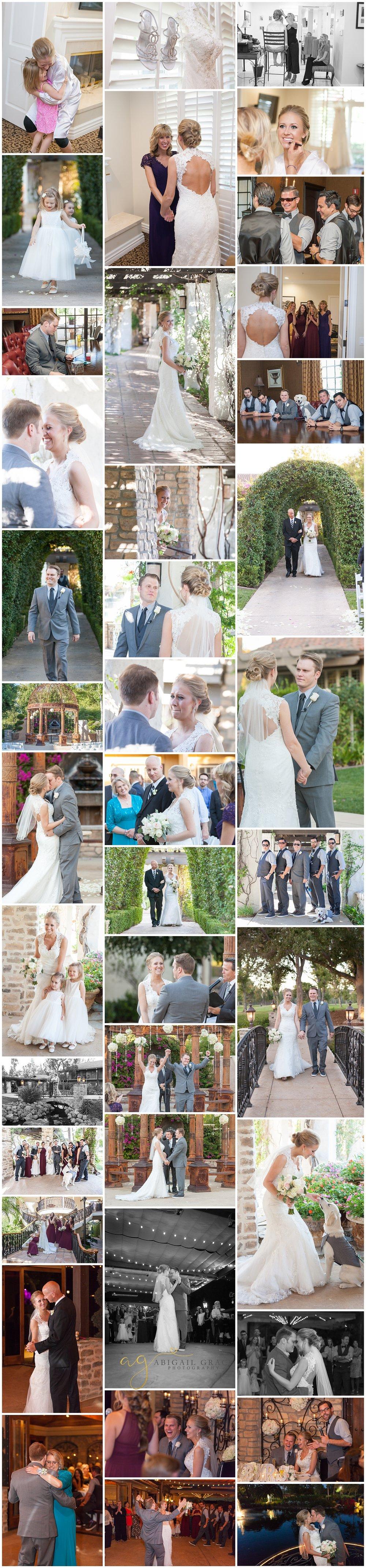 westlake village inn wedding photos