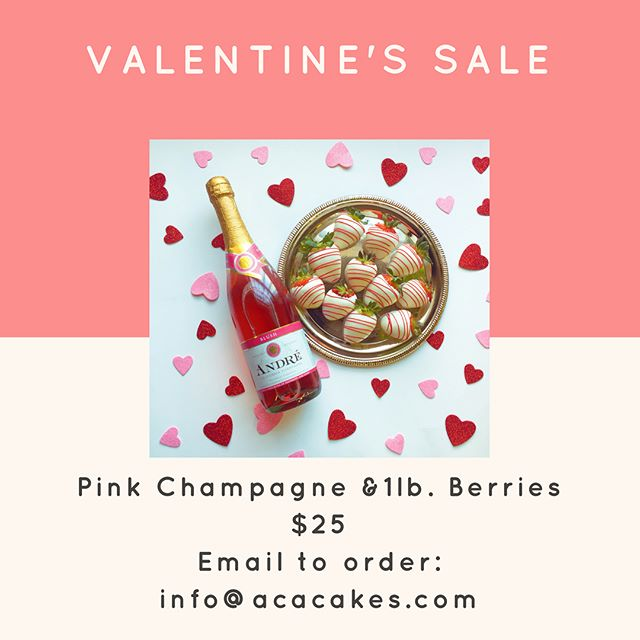 5 Spots available for this last minute - Pink Champagne & Chocolate Berry deal!  25$ for 1 lb. of berries & a bottle of pink champagne!  Tomorrow is the last call for berries. Ive got... - 1 spot left for cheesecake stuffed berries - 4 spots left for regular dipped berries (milk, white, dark or peanut butter) - 5 spots left for berries & champagne
