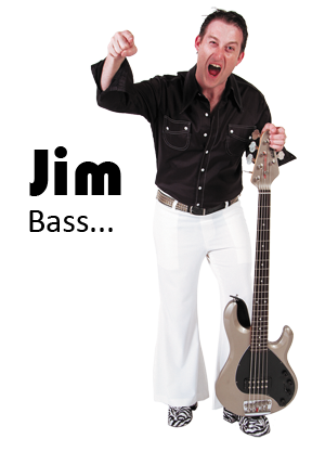 Jim has played bass almost as long as he's been able to walk!  A long time original and cover music player, he revels in locking in the rhythm section   Jim was one of the founding members of Fizzy Pop in Adelaide.  He loves seeing the dance floor full and is partial to shaking it himself from time to time.