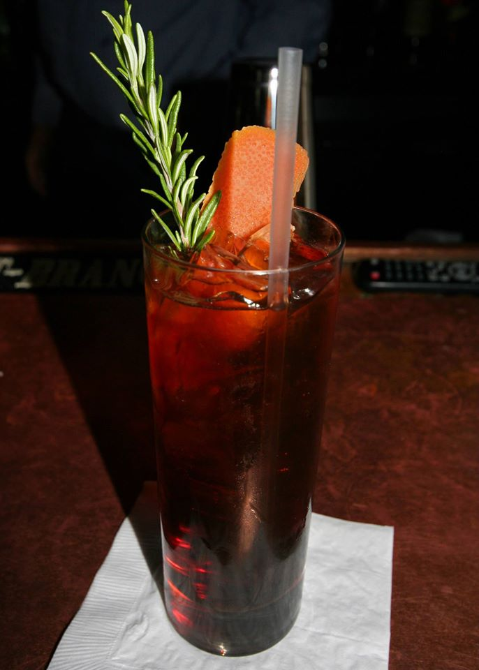 Amaro to Love (I'm So Lost Without You) with Averna, Cardamaro, Hum, and soda