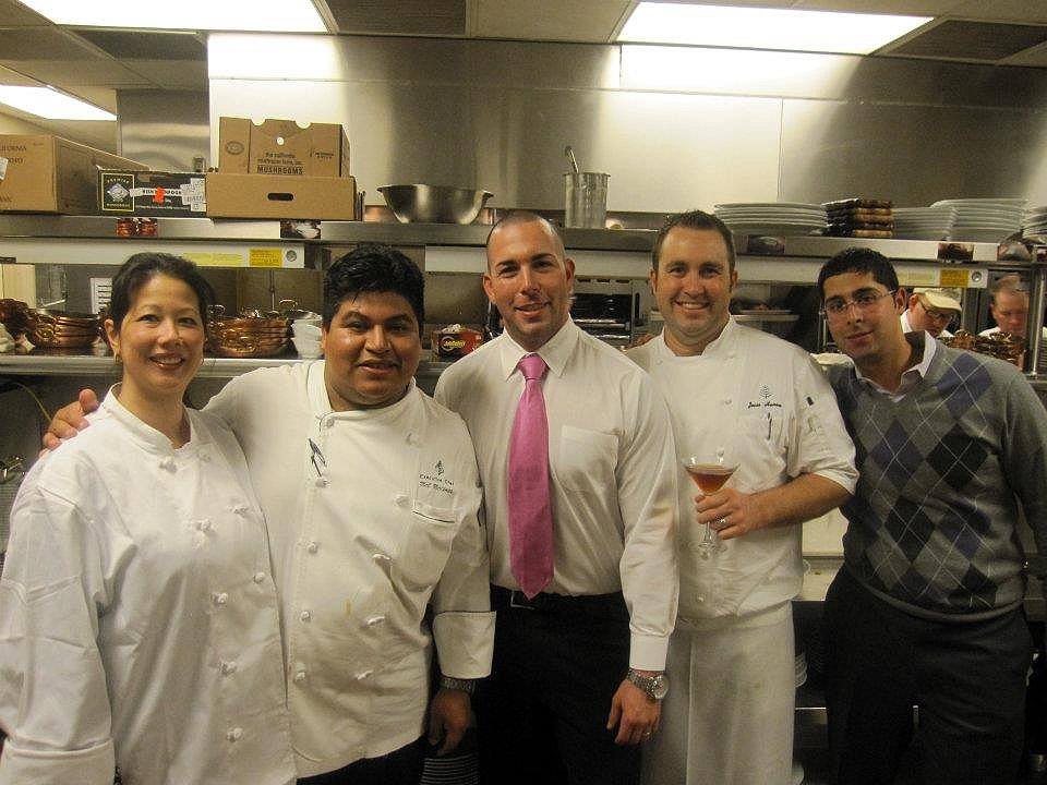 """Chef for a Day"" program: In the kitchen with Jason Asher and Chef Mel and the Talavera crew"
