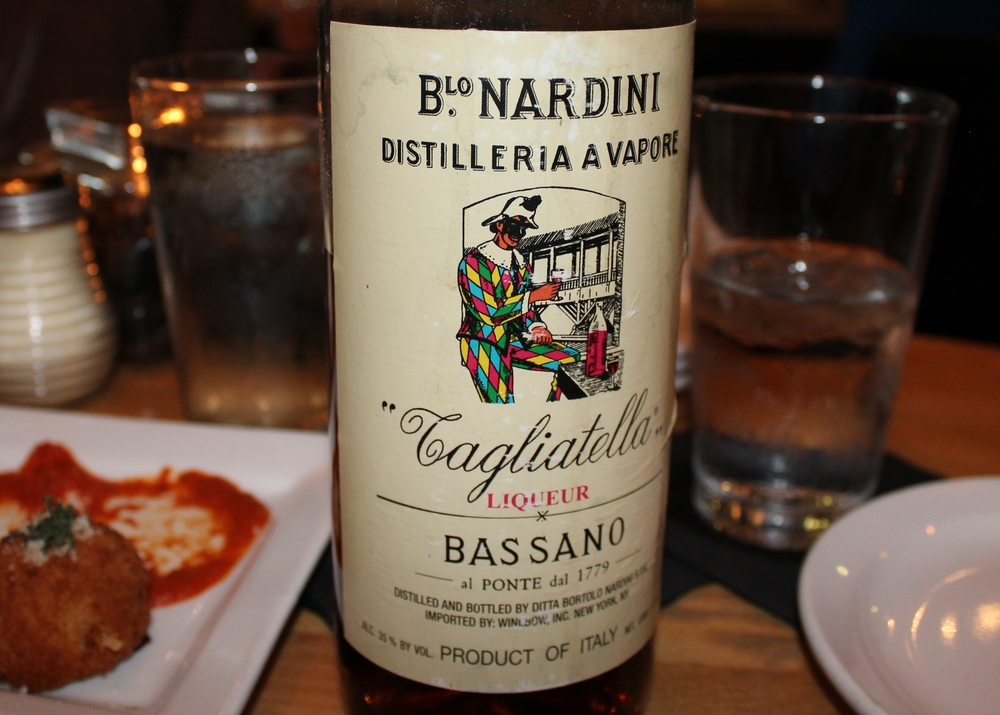 Also loved this Nardini Bassano Tagliatella liqueur
