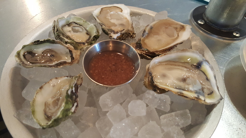 Kumamoto and Copps Island oysters
