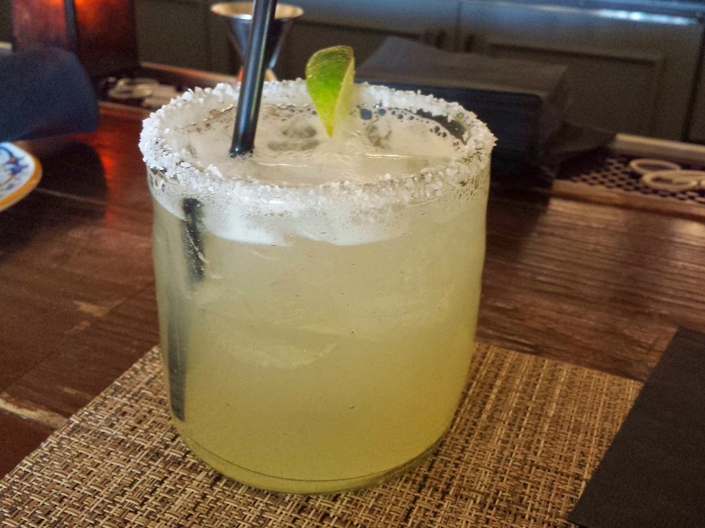 Margaritas at La Hacienda after the spa and salon.