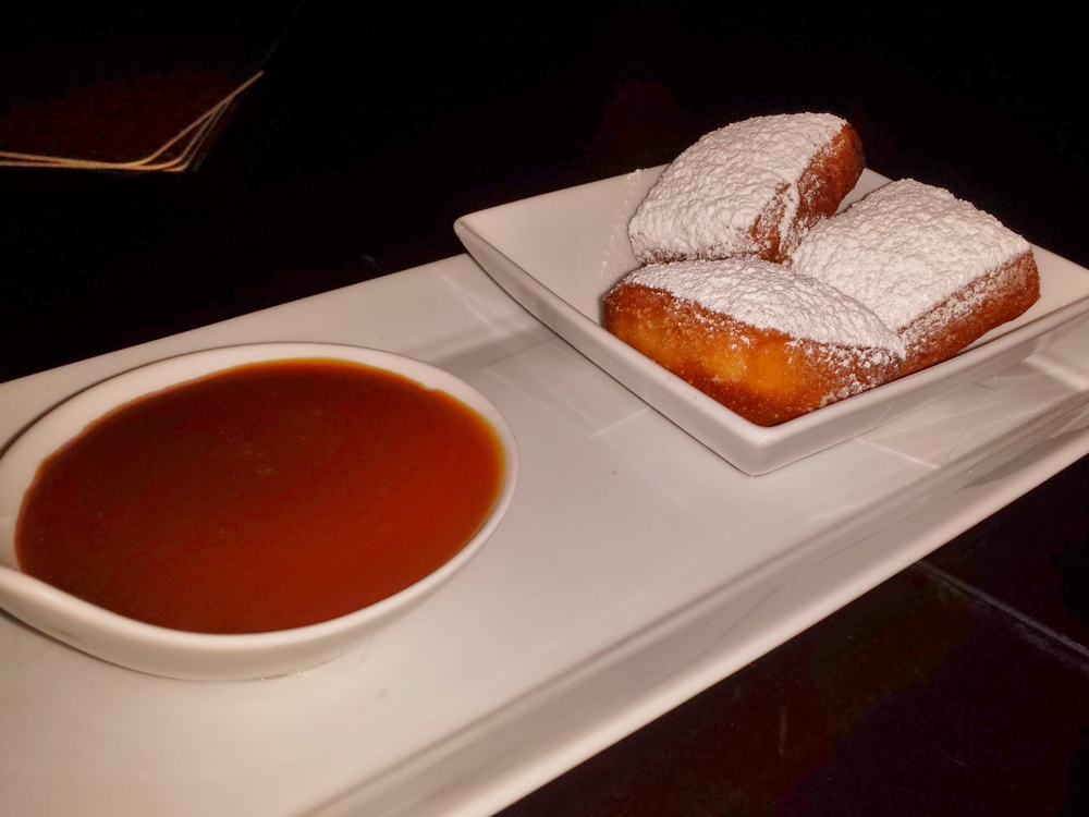 Beignets with The Macallan Scotch pudding