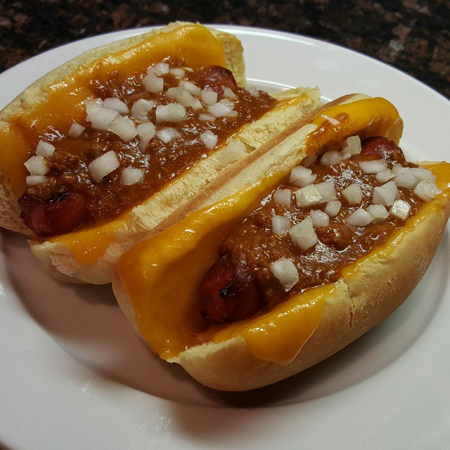 Chili-cheese dogs