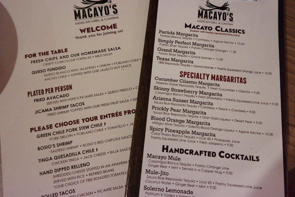 Macayo-new-menu