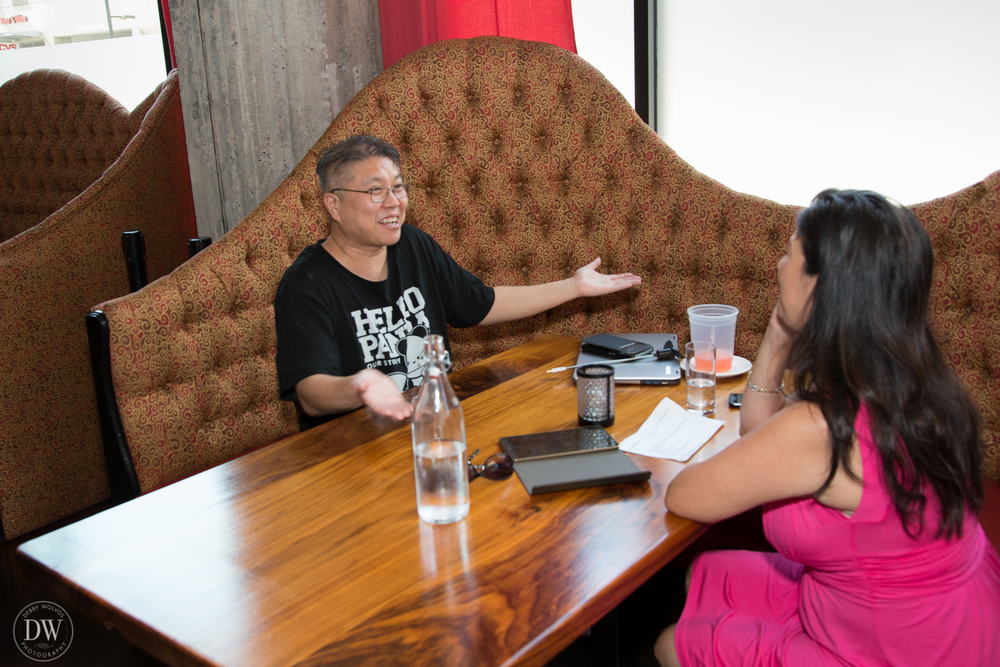Interviewing Chef Bob Tam of Bitter and Twisted (DW Photography)