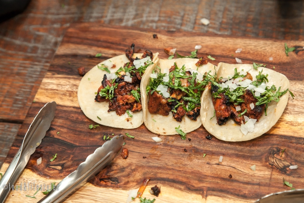 Al Pastor Tacos  (all photos by Food & Lifestyles Photography)