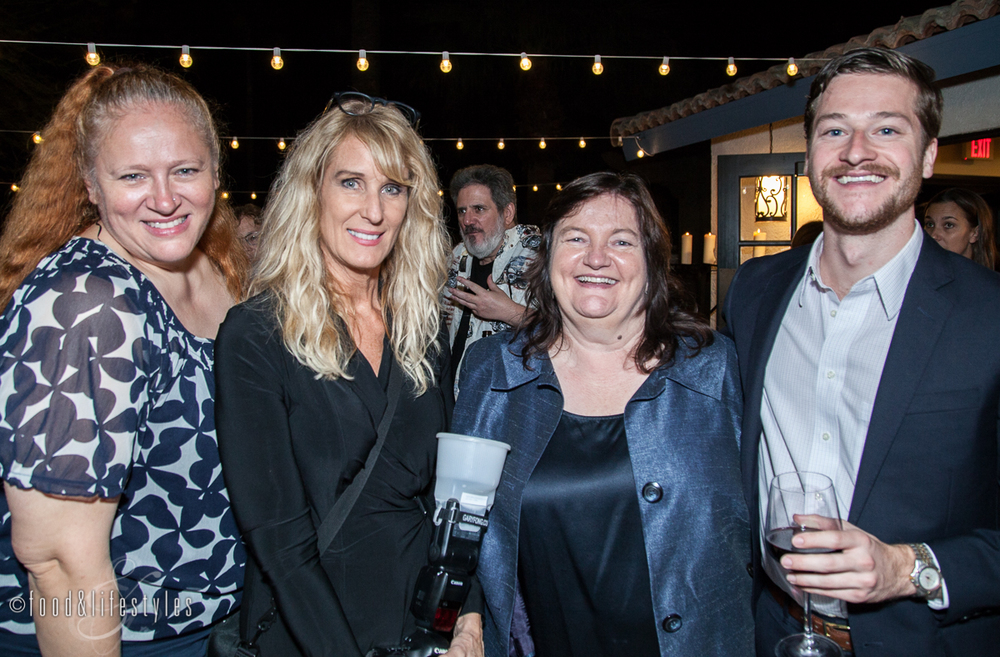 Izabela Wojcik of the James Beard Foundation, Debby Wolvos Photography,  Pamela Hamilton, founder of Edible Phoenix, James Bardwell of the Brandman Agency