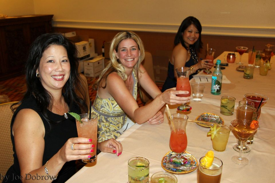Judging cocktails at Taste of the Nation