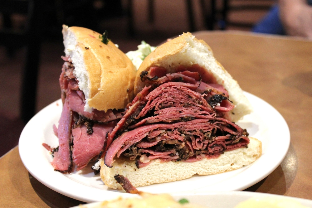 pastrami at chompie's