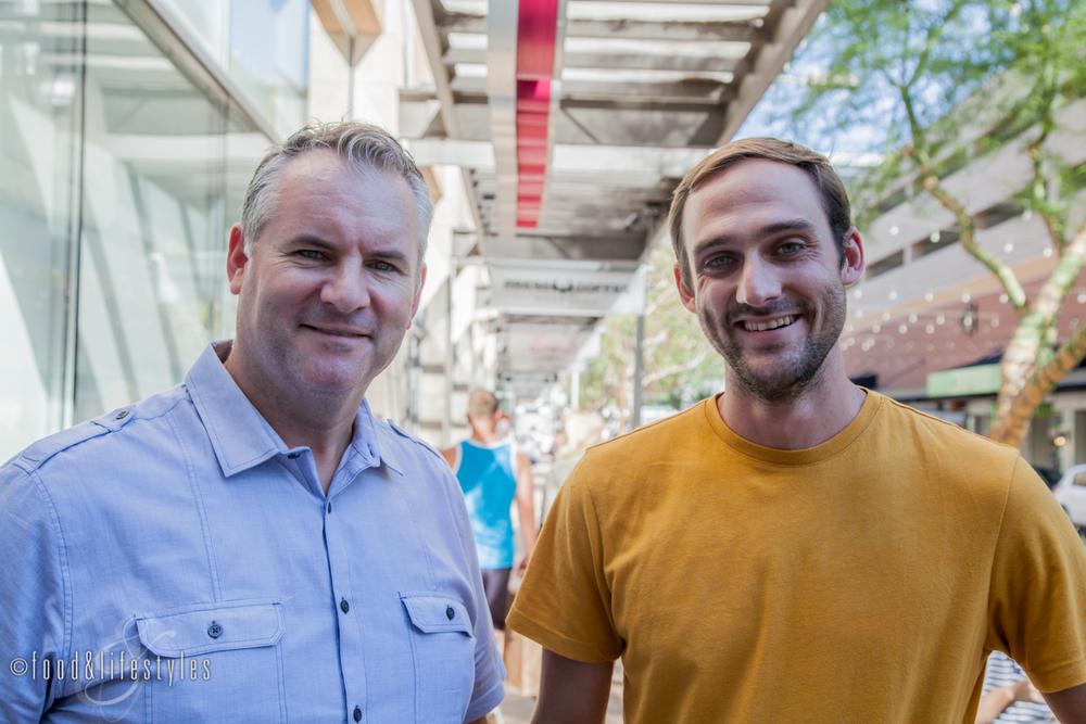 Steve Kraus and Alex Mason